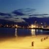 Вид на Бердянский Морской порт ночью...