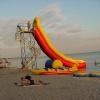 "Атракцион ""Горка"" на Бердянском пляже."
